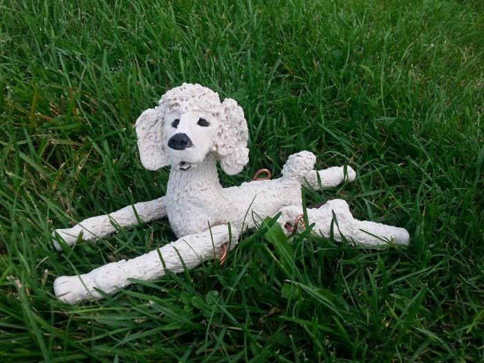 Custom formed Poodle