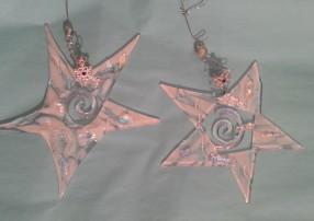 Dream Stars – Fused Glass Ornament